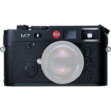 Brand New Unused Leica M7 Rangefinder Film Camera Black 0.72 x MP Finder 10503