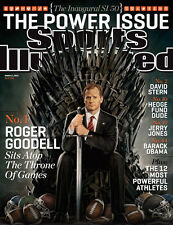 Sports Illustrated March 11 2013 Vol 118 #11 Roger Goodell Stern Jerry Jones