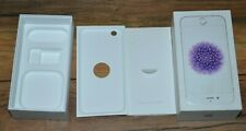 Apple iPhone 6 Silver 16GB MG5X2LL/A Empty Retail Box with inserts & Stickers