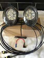 LED DRL FOG LIGHTS VW TRANSPORTER  T5.1  2009 ON X 2  FIT ALL T5.1 FRONT BUMPERS