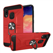 For Samsung Galaxy A01 Phone Case Rubber Hybrid Back Cover/Car Air Vent Mount