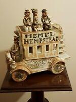 Hemel Hempstead Edwardian Bus by Marie Whitby studio pottery Figurine L@@K MINT