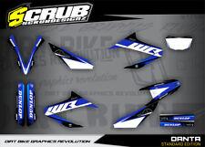 Yamaha graphics WR 125R '09-'18 2009 - 2018 stickers SCRUB decals kit