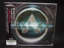 ALL 4 1 The World's Best Hope + 1 JAPAN CD Strangeways Giant Sammy Hagar Boston