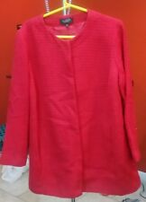 Talbots Red coat 100% Cotton  Size 16WP New