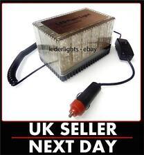 12V LED Clignotant Beacon Lightbar Feux Camion Van Voiture Ambre magnétique compact UK