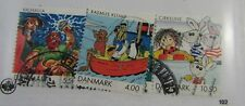 Denmark Sc #1218-21 Cartoons used stamps