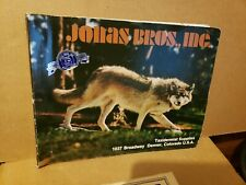 Vtg 1983 Jonas Bros Denver Co Taxidermist Supplies Salesman Catalogue