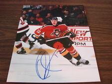 Olli Jokinen Autograph / Signed 8 x 10 Photo Florida Panthers