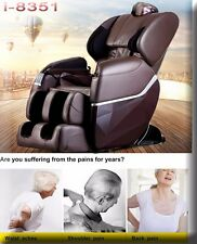 Brand New Massage Chair 8351 Zero-G Human Touch Heating Foot Roller Brown