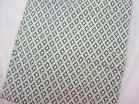 Vintage Feedsack Fabric - Lime Green Tiny Circle Pattern Quilting Sewing Crafts