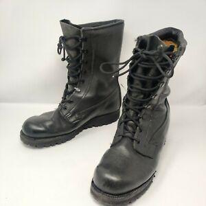 Genuine US Army Issue Belleville Hot Weather Black Boots Size UK 9.5 Goretex