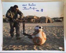 Brian Herring Signed Autographed BB-8 16x20 Photo Star Wars JSA WITNESS COA 4