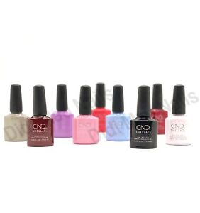 CND Shellac UV Gel Polish 0.25oz- Batch 1 (A-W)