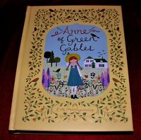 Anne of Green Gables By L. M. Montgomery ~ Illustrated Leather Bound Edition