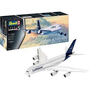 Revell 03872 1/144 Airbus A380-800 Lufthansa New Livery Plastic Model Kit Brand