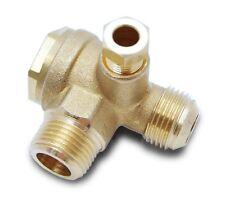 Rückschlagventil Ventil Kompressorventil Kompressor Druckluft 1/2 x 3/8 AG Type3