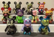 "Disney Vinylmation 3"" - Villains Series 1 - Set Of 11"