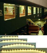 LED Personenwagen Beleuchtung Waggonbeleuchtung warmweiß  analog & digital