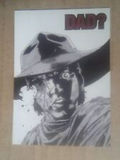 Walking Dead Card from Set 2 Quotable QTB-8 chase card