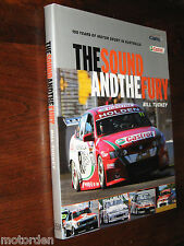 100 YEARS OF MOTOR RACING IN AUSTRALIA 2004 book, SIGNED/INSCRIBED LARRY PERKINS
