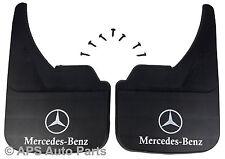 Universal Car ANTIBECCHEGGIO anteriore posteriore MERCEDES CLASSE C Logo Anteriore Fango Flap Guard