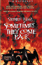 Stephen King's Sometimes They Come Back (DVD, 2006, Tim Matheson)