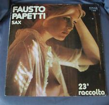 Vinilo LP Record - FAUSTO PAPETTI - 23ª RACCOLTA