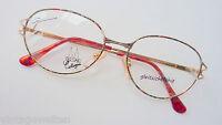 Brillenfassung Damenbrille Metall bunt XL Gläser Hippie 70er Vintage 52-15 Gr.M