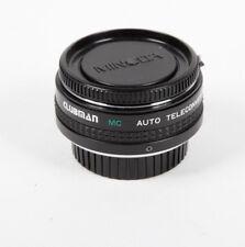 Clubman 2x Mc Auto Tele Converter Minolta MD