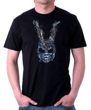 Donnie Darko Conejo hablar con Frank Conejo Película de Culto Negro Camiseta 09848