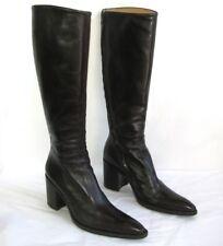 FREE LANCE Bottes talons 8 cm cuir marron 38.5 EXCELLENT ETAT