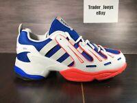Adidas Originals EQT Gazelle Men's Size 10 White Blue Grey Solar Red EG2889 New
