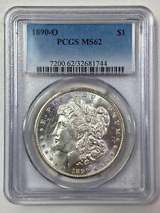 1890-O Morgan Silver Dollar - PCGS MS 62