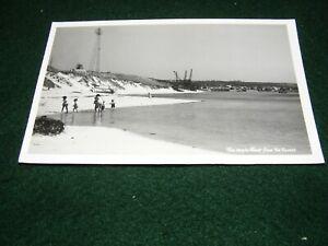 POSTCARD HAYLE RIVER BEACH FROM TOWANS INDUSTRIAL CRANES F GRATTAN PENPOLE RP
