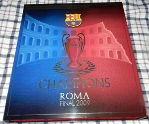 FC BARCELONA 2009 Champions League BOXED SHIRT NUMBER 1914