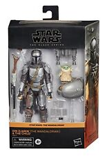 """STAR WARS BLACK SERIES THE MANDALORIAN AND THE CHILD 6"""" EXCLUSIVE IN HAND"""