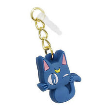 Japanese Anime Sailor Moon Cat Luna Anti-Dust Plug Mobile phone Dustproof Purple