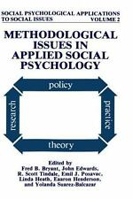 Methodological Issues in Applied Social Psychology (Social-ExLibrary