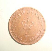 1976 1/2 PENNY QUEEN ELIZABETH DECIMAL COIN (CIRCULATED)