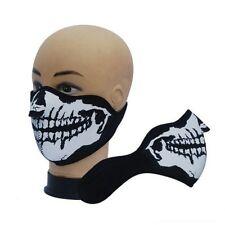 Cráneo Esqueleto De Neopreno Bicicleta De Esquí Skate Deporte BMX Moto Invierno Máscara Media Cara