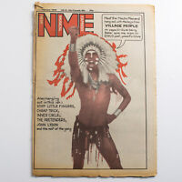 NME magazine 17 February 1979 Village People cover John Lydon Pretenders