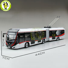 1/42 YuTong Bus ZK5180A City Bus Trolleybus Articulated bus Diecast Bus Model