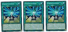 3 X Zukunftsfusion LEDD-DEB17, Common, Mint, Deutsch, Playset
