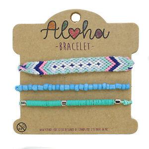 Aloha Stacker Bracelet festival friendship jewellery kid girl CHOOSE YOUR DESIGN