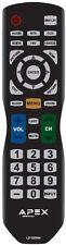 New APEX LD100RM Remote for LD3249 LD3288 LD3288T LD3288M LD4077 LE4077M