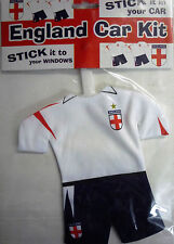 England Strip Shirt St George Stick on Window Car Decoration. Show Your Support!