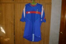 France Adidas Football Shirt Home 2004/2005/2006 World Cup Soccer Jersey Size L