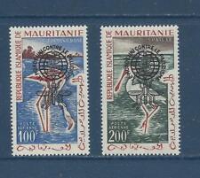 MAURITANIA - C14a-C15a - TY II - MNH - 1962 - ANTI MALARIA CAMPAIGN