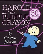 Harold and the Purple Crayon  by Crockett Johnson [Hardcover]